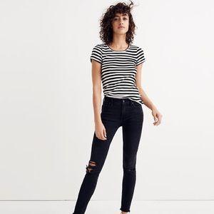 Black Madewell 9-inch High Waist Skinny Jeans